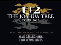 x4 Standing U2 Tickets @ Twickenham Stadium/9th July 2017