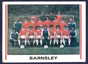 PANINI-FOOTBALL-81-431-BARNSLEY-TEAM-PHOTO