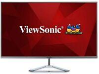 ViewSonic Monitor - 32 Inch 2K WQHD (Brand new)