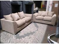 Brand new jumbo cord 3+2 seater sofa sets 🔥🔥😍