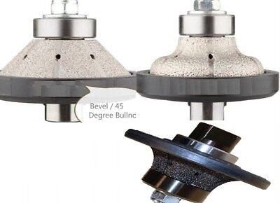 34 Bevel Radius Ogee Bullnose Router Bit Masonry Granite Countertop Tile Edge