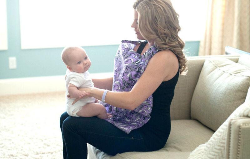 NEW Udder Covers - Breast Feeding Nursing Cover Aubrey  Baby