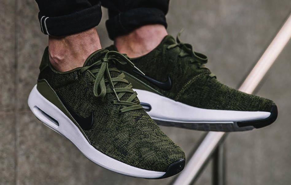 Nike - New NIKE Air Max Modern Flyknit Men's Running Shoes green white sz 8-13