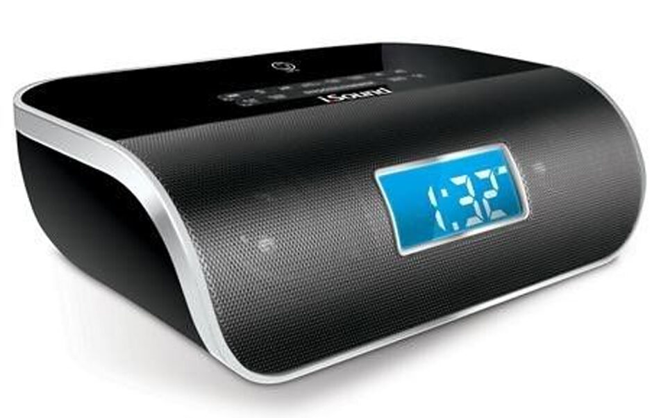 DreamGear iSound 6340 DreamTime Pro Bluetooth Alarm Clock Radio Black