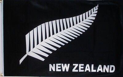 NEW ZEALAND FERN 5X3 FEET FLAG Polyester fabric Wellington Auckland