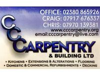 **QUALIFIED CARPENTER WANTED** SOUTHAMPTON AND SURROUNDING AREAS