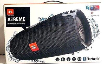 JBL Xtreme Portable Wireless SplashProof Bluetooth Speaker -BLACK Retail Box