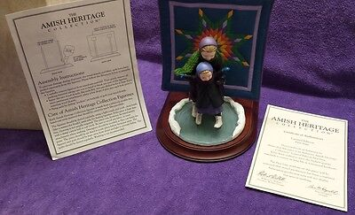 Limited Edition Willitts Amish Heritage WINTER FUN Martha & Lizzie 30023