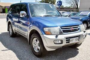 2000 Mitsubishi Pajero Exceed-Auto 4x4-Only $6990 Evandale Norwood Area Preview