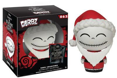 Nightmare Before Christmas Santa Jack Skeleton Disney Pop Vinyl Dorbz Figure Toy