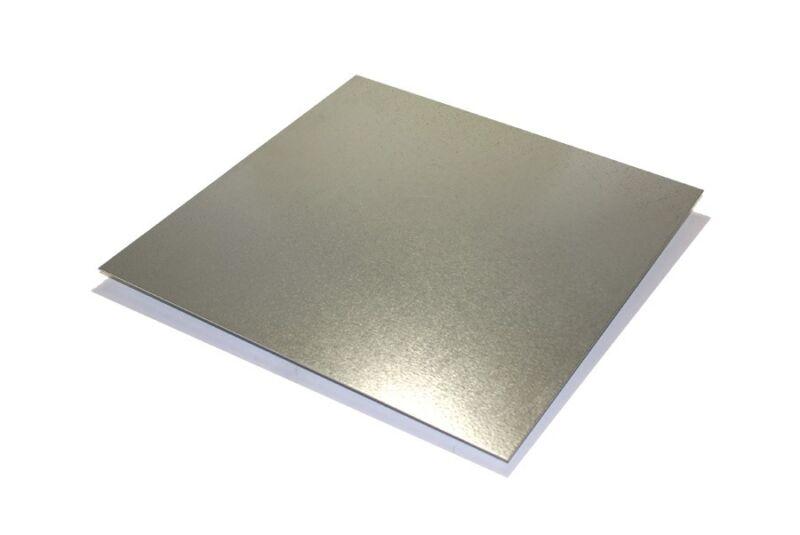 """3 Pieces of Galvanized Steel Sheet Metal (24 Gauge) 9"""" x 12"""""""