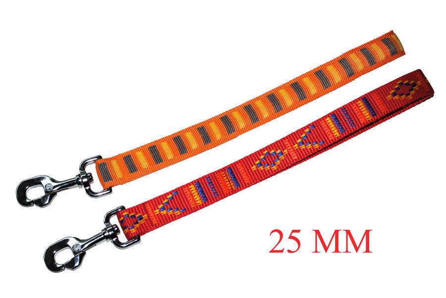 Kurzführer Führschlaufe Hunde Leine Führleine Ausstellungsleine 25 mm
