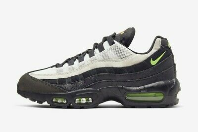 Nike Air Max 95 Essential UK 7 EUR 41 Black Electronic Green AT9865 004