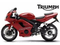 triumph daytona 955i 03-05 breaking for spares