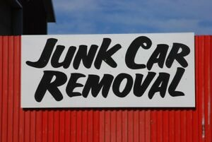 Junk vehicle/metal removal also buying vehicles that need work