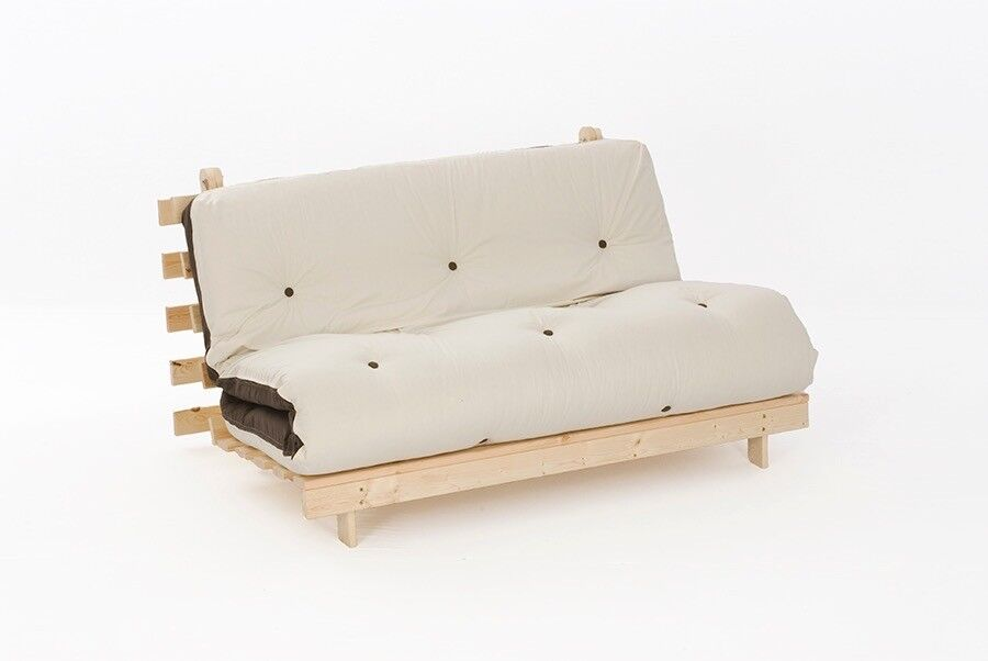 Brand New Double Futon Frame And Mattress
