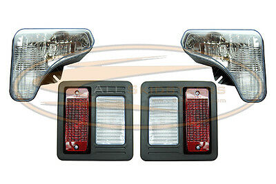 Bobcat T595 T630 T650 Headlight Tail Light Kit With Bulbs Lens Lamp Skid Steer