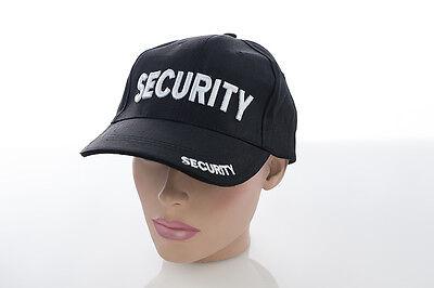 Security Cap Mütze Basecap Baseballcap BB Baseball Sicherheitsdienst Türsteher