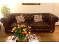 Halo Chesterfield Kingston Mews 3 seater Sofa