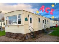 Caravan on the west coast Lancashire heysham Morecambe Not Haven 12 Month Season Not Wales 12ft Wide
