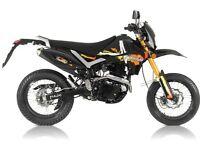 Pulse Adrenaline 250cc Supermoto Immaculate Black & Orange