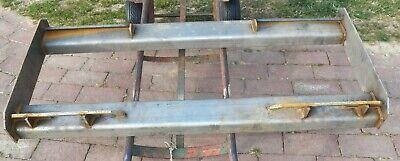 38 Steel Quick Attach Attachment Mount Channel Weld Plate Skid Steer Loader