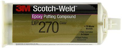 3m Dp270 Scotch-weld Epoxy Potting Compound Clear 48.5ml