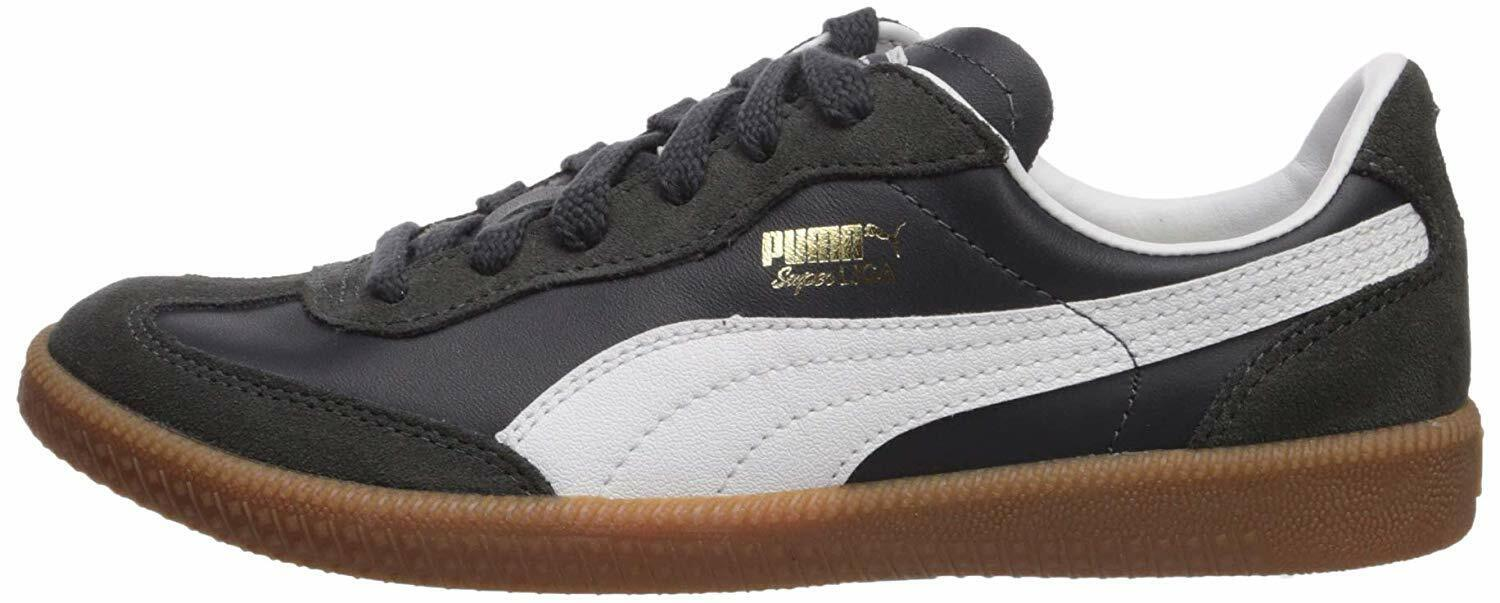 Men's Shoes PUMA SUPER LIGA OG RETRO Leather Sneakers 356999-09 NEW NAVY / WHITE 1