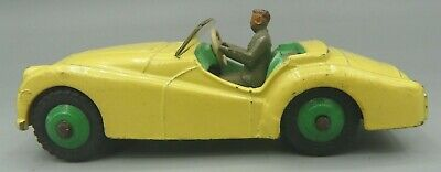 DINKY TOYS -  TRIUMPH  TR2 SPORTS CAR - Made in England by Meccano LTD