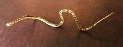 Aboriginal Australian dot painted Snake Purchased near Uluru Vintage