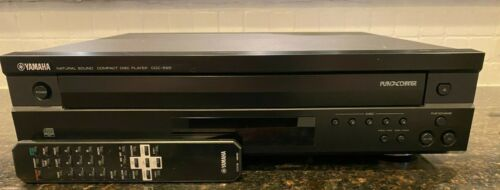 Yamaha CDC-585 5 Disc CD Player Tested & Works w/ Original Remote-Free Shipping