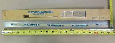 O1 Tool Steel Sheet 164 X 1 X 18 Simonds Flat Ground Steel Oil Hardening