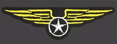 Cartoon-patch (military wings cartoon patch  crest insignia air force embroidered (YWWS-680))