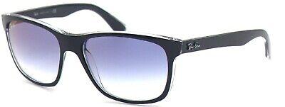Ray-Ban Damen Herren Sonnenbrille RB4181 6039/X0 57mm Wayfarer verspiegelt L7 H