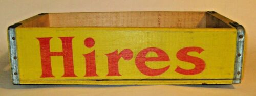 Vintage Wooden Hires-Crush Soda/Pop Crate, Case, Squirt-Vernors Inc., Buffalo NY