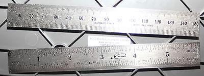 34-006-n Igaging 6 Inch 150 Mm Steel Scalerulerrule W132 End Scale