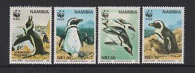 Namibia - 1997, Endangered Species, Penguins, Birds set - MNH - SG 713/16