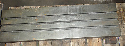 40 X 12 X 3.5 Steel Weld T-slotted Table Cast Iron Layout Plate Jig 3 Slot