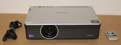 Sony VPL-CX150 3LCD Projector.Only 295 Hours on Lamp.W/Pwr.Cord & Remote Control