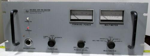 SCIENTIFIC RADIO SYSTEMS SR-402A VHF FM EXCITER