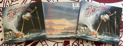 Jeff Wayne's Musical Version War Of The Worlds Sealed 30th Anniversary 2Disc CD