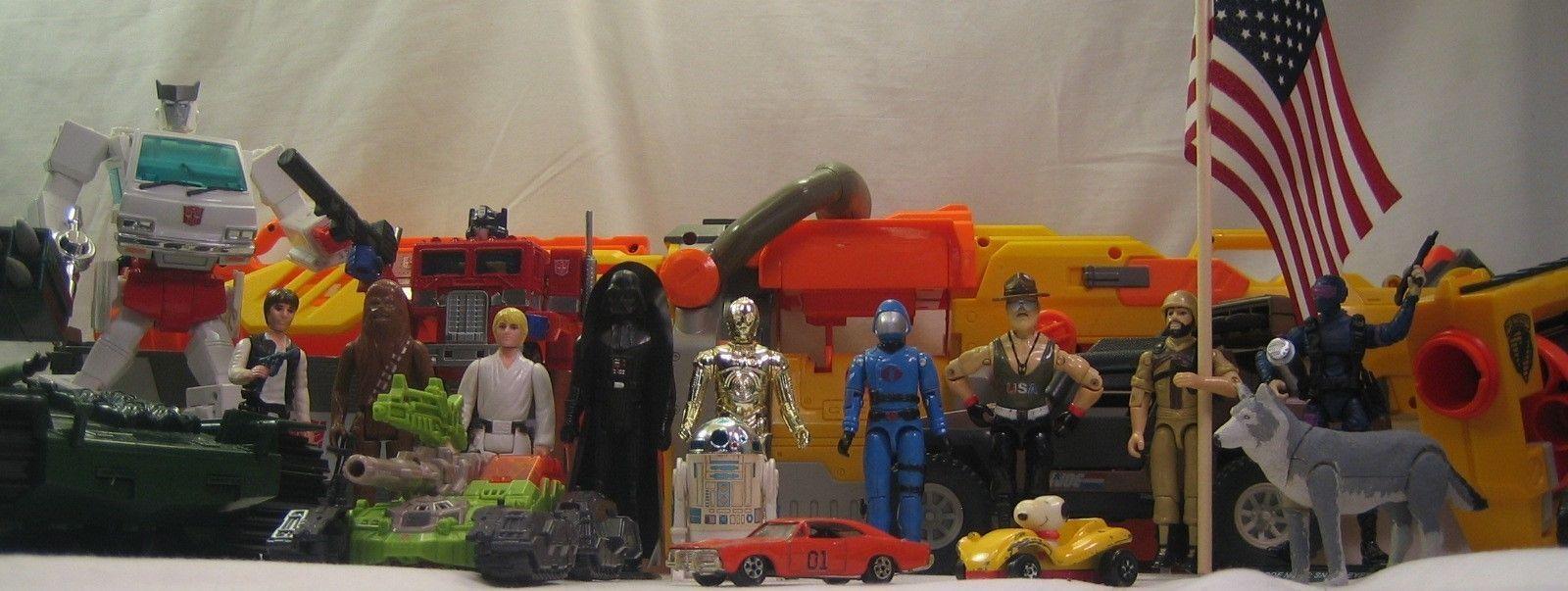 Basement Brigade Vintage Toys