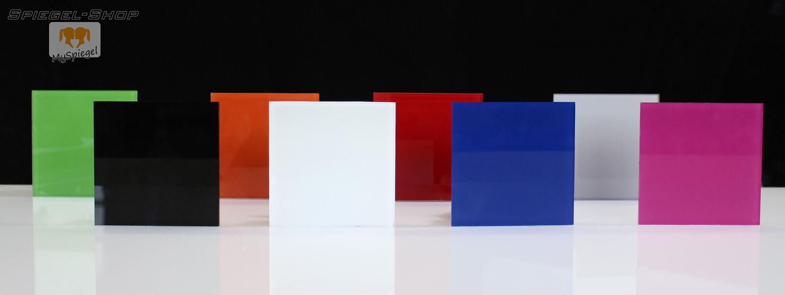 k chenr ckwand fliesenspiegel glas 4mm farbig lackiert f r. Black Bedroom Furniture Sets. Home Design Ideas