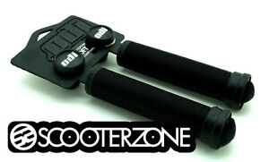 ODI-Longneck-SOFT-Grips-for-Scooters-BMX-Bikes-Flangeless-Grips-BLACK