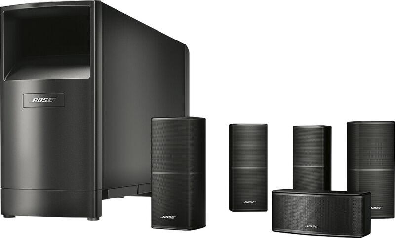 Bose - Acoustimass 10 Series V 5.1-Channel Home Theater Speaker System - Black