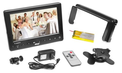 "Pyle Plcmhd70 7""hd Video On-camera Portable Monitor W/ Hd..."