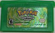 Pokemon Leaf Green GBA