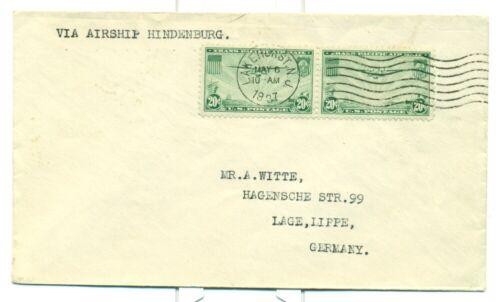 1937 ZEPPELIN HINDENBURG LZ129 SIEGER #454 INTENDED FOR FLIGHT ON HINDENBURG