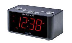 Emerson SmartSet Alarm Clock Radio with Bluetooth Speaker ER100201 - B