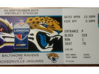 Spare Ticket for Ravens vs. Jaguars game 24/09/2017